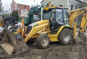 buldoexcavator si alte utilaje